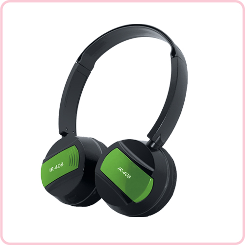 IR-408 Kids use Fold-flat headset wth IR single channel
