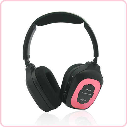 IR-607  wireless headphone ir transmitter for car use