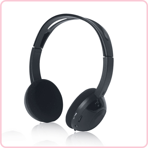 IR-8366 Car DVD IR wireless fashionable headset Personal volume control