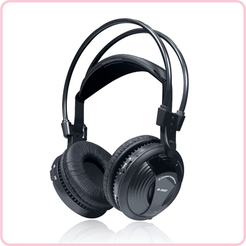 IR-8387 Single channel IR wireless headset Double headband