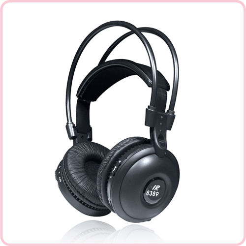 IR-8389 In-car IR Best wireless headset with Comfort headband