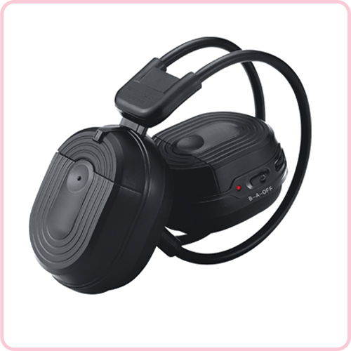 IR-307D Folding IR stereo wireless headphone for Car entertainment