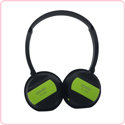IR-408D For car use wireless IR Fold-flat headset with 3.5mm jack