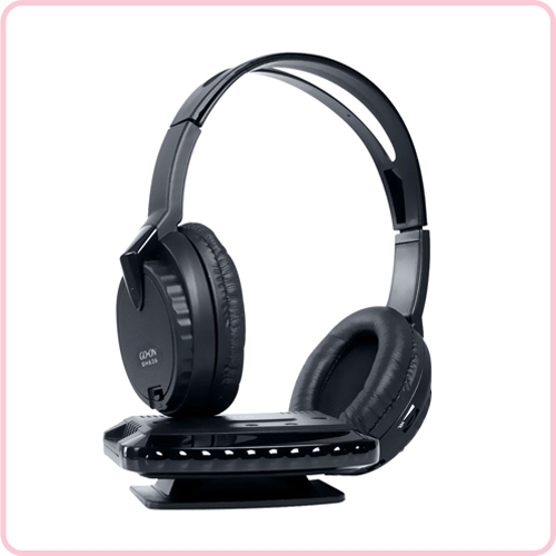 GH-636 Dual wireless headphones for TV hifi stereo