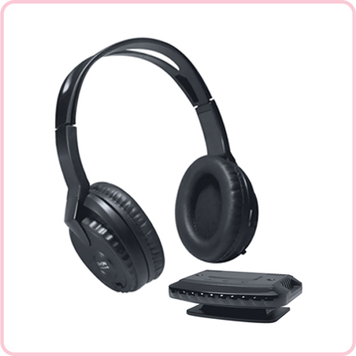 GH-646 Long distance wireless RF headset with stero sound