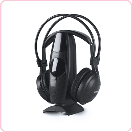 GH-800 Special design RF/UHF wireless stereo head phone for TV&PC