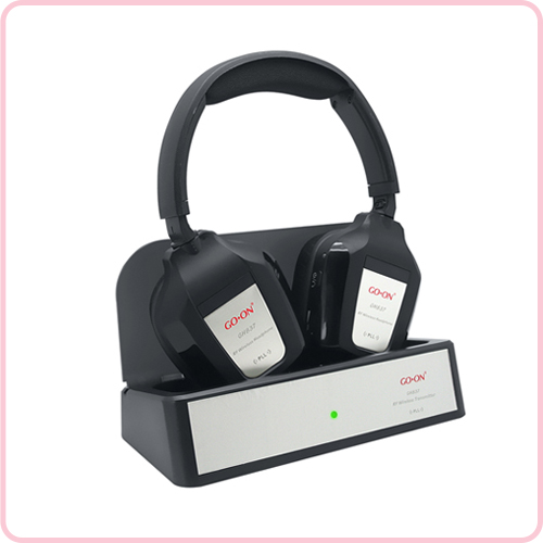 GH-837 Wireless TV Headphones with Double PLLsystem