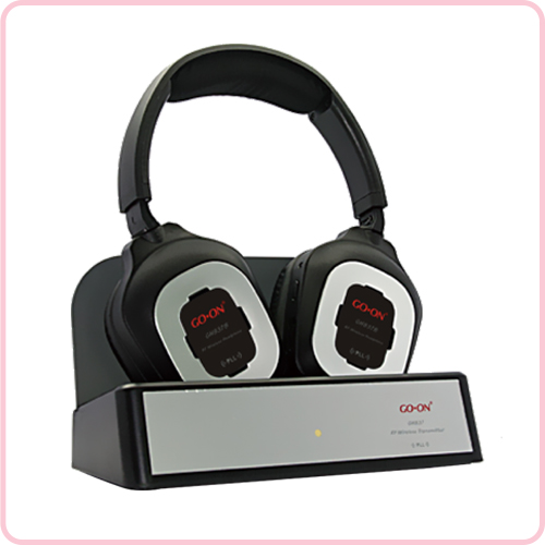 GH-840B  Virtual 5.1CH surround sound headphone for TV/DVD/PC/MP3