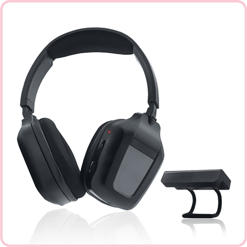 GH-850 Special transmitter design IR fashionable headset for TV with soft band