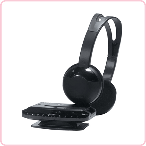 GH-530 IR Useful wireless computer headset with stereo sound