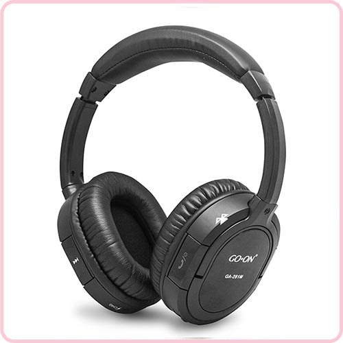 V4.1 + EDR Bluetooth Headphone, fold flat design, stereo sound