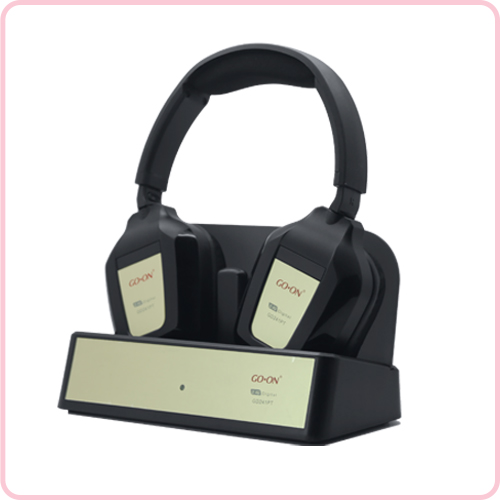 GD-241PT 2.4G wireless hifi stereo headphone with reasonable price
