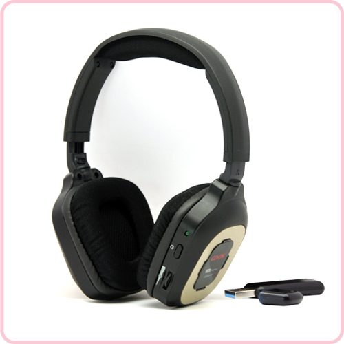 GD-242 2.4G wireless hifi stereo headphone with popular design