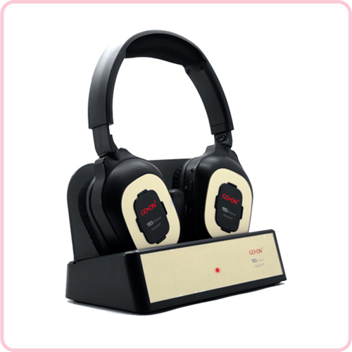 GD-242PT Best selling 2.4G wireless headphone with popular design