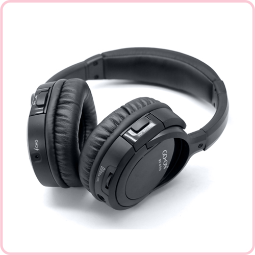 RF-608 Hifi stereo sound silent disco headphone with reasonable price