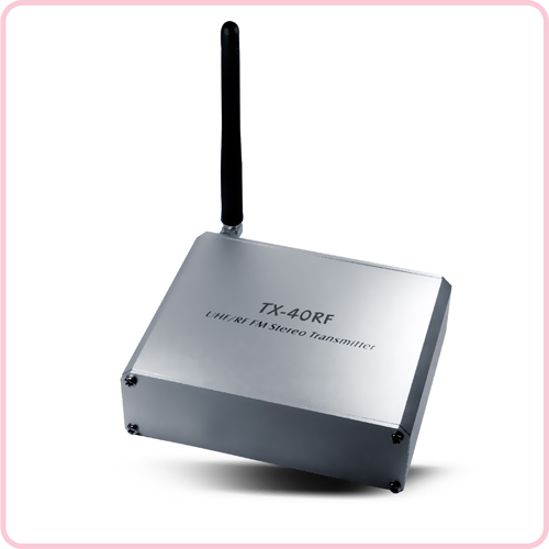 TX-40RF High quality wireless silent party  transmitter with long distance operation