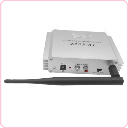 TX-40RF(500M) Classic design wireless transmitter for silent disco and events