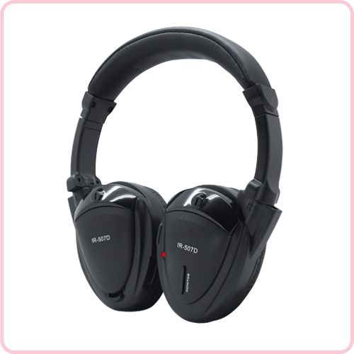 IR-507D Monitor function wireless IR headphone for car IR-507D