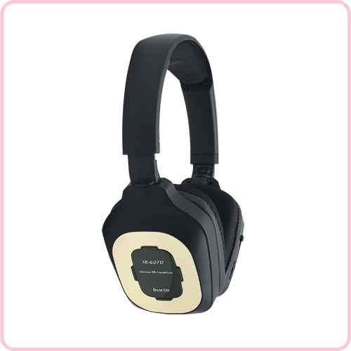 IR-607D Foldable wireless headphone for car with clear stereo sound