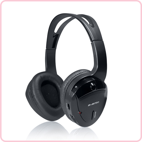 IR-8670 is infrared wireless Headphone for car use with crystal clear sound.