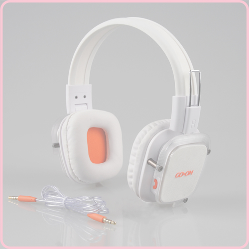 Popular wired headphone iphone with mic for calls control