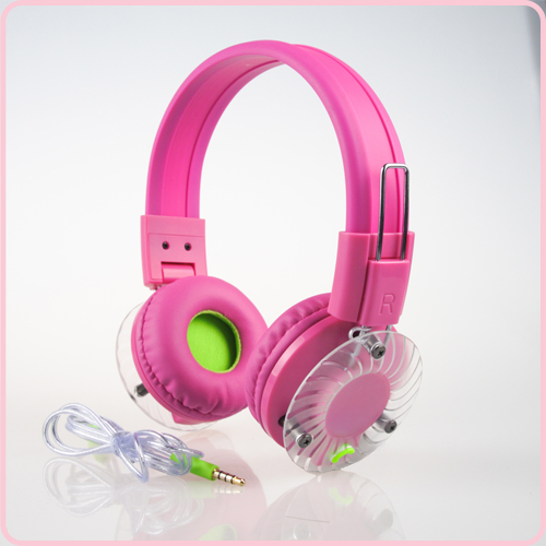 Newest Design wired headphones with stereo sound and multi color