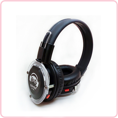 RF-409R(MLC) 10 channels Silent Disco headphone with multiple LED lights for meeting and conference