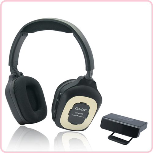 GH-666B Hands free viewing wireless stereo headphone for TV
