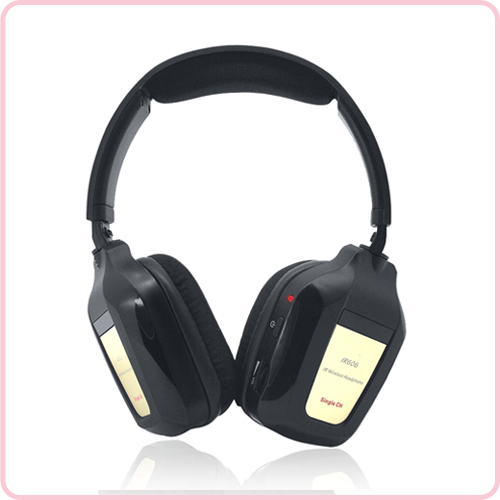 IR-606 Car Infrared IR wireless Car DVD Stereo Headphone Earphone