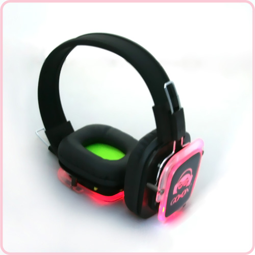 RF-309(Blue) Best selling silent disco headphone with LED light